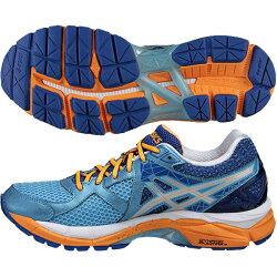 【アシックス】LADYGT-2000NEWYORK3ランニングシューズ/陸上/ジョギング/トレーニングシューズ/asics/レディス(TJG406)4193ナチュラルブルー×シルバー