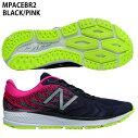 【ニューバランス】M1500ランニングシューズ/トレーニングシューズ/マラソン/駅伝/ランニング/RUNNING/newbalance(MPACEBR2)BLACK/PINK