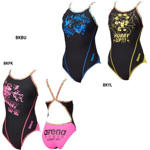 86556e63797 ネコポス選択可【アリーナ】スーパーフライバック ジュニア女子 トレーニング水着/練習用水着子供用/水着 アリーナ/arena(FSA-8603WJ)