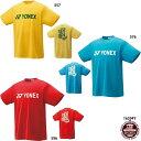 ネコポス選択可【ヨネックス】Tシャツ半袖/テニスウェア/バドミントンウェア/YONEX (16394Y)