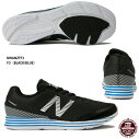 【ニューバランス】NBHANZOTMエヌビーハンゾーティーF3ランニングシューズ駅伝マラソン(MHANZTF3)F3(BLACK/BLUE)