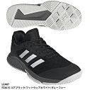 【アディダス】BARRICADECODEJPNCLUBOCバリケード/テニスシューズ/オムニクレーコート/adidas(FBU93)DB1601コアブラック/ランニングホワイト/マットシルバー
