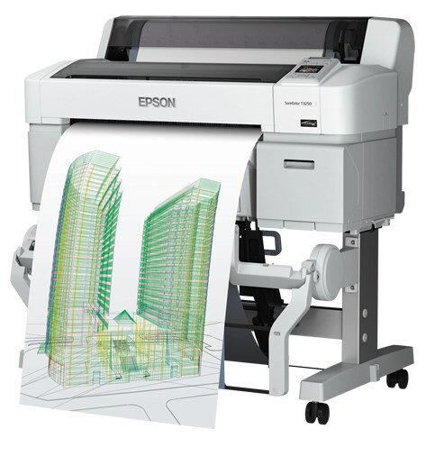 EPSON エプソン A1プラス 4色 高速 SureColor SC-T3250H 24インチ専用スタンド付