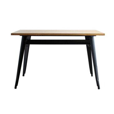 テーブル 120テーブル ダイニングテーブル 省スペース カフェテーブル フック 棚付き インダストリアル カフェ おしゃれ 店舗什器 スチール シンプル ナチュラル ヴィンテージ ビンテージ クール インテリア デザイン スタイリッシュ カッコいい