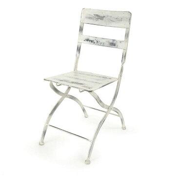 ガーデニング エクステリア ガーデンチェア チェア 椅子 いす イス 店舗什器 ディスプレイ アイアン アンティーク/
