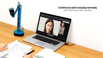 Zoom、GoToMeeting、Skype、GoogleMeetなどの通信ソフトを利用して、VZ-Xをテレビ会議や遠隔授業のウェブカメラとして使うこともできます