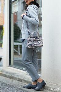 カモフラージュ(迷彩)柄クロア型キャンバス2wayミニバッグ