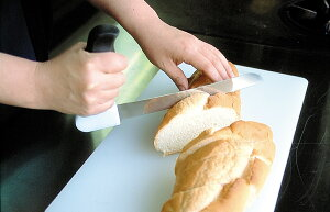 パン切り包丁 らくらくブレッドナイフ【イギリスキッチン用品/高齢者・シニア用】