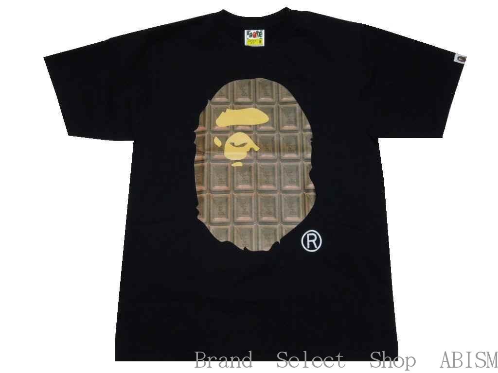 トップス, Tシャツ・カットソー A BATHING APE()VALENTINE CHOCOLATE APE HEAD TEETBAPE