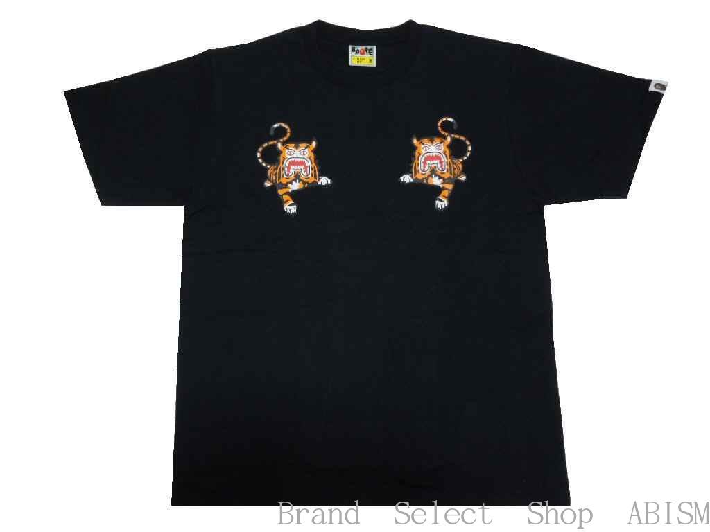 トップス, Tシャツ・カットソー A BATHING APE()BAPE TIGER TEETMENSBAPE