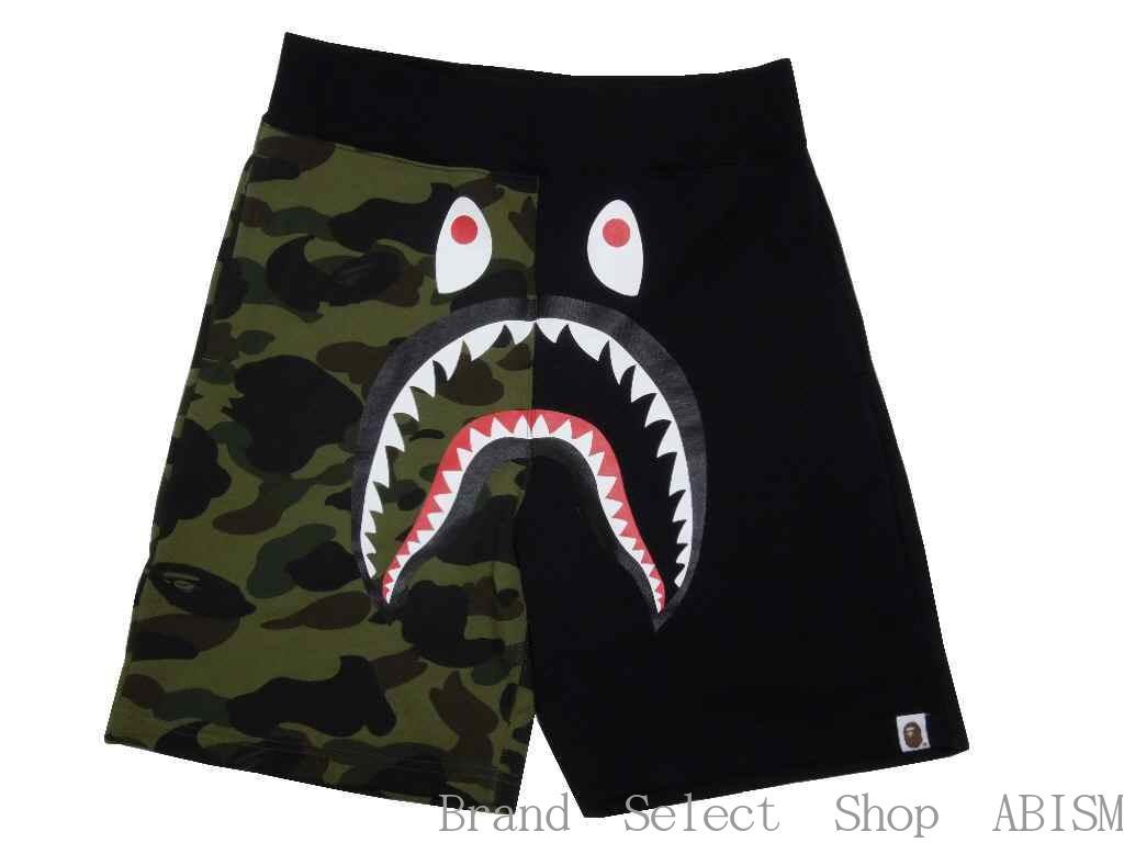 メンズファッション, ズボン・パンツ A BATHING APE()1ST CAMO SHARK SWEAT SHORTS xCAMOMENSBAPE