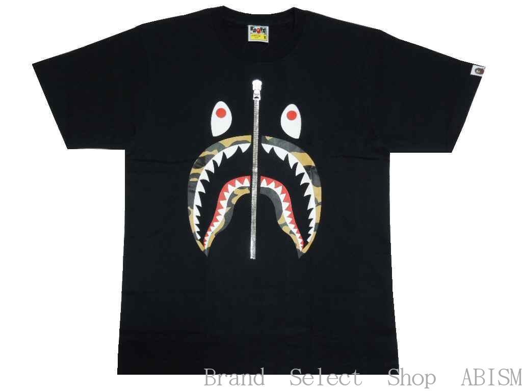 トップス, Tシャツ・カットソー A BATHING APE()1ST CAMO SHARK TEETxCAMOMENSBAPE