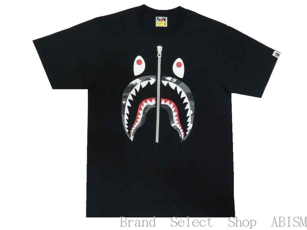 トップス, Tシャツ・カットソー A BATHING APE()CITY CAMO SHARK TEETxMENSBAPE