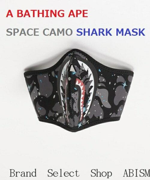 バッグ・小物・ブランド雑貨, その他 A BATHING APE()SPACE CAMO SHARK MASKCAMOBAPE()