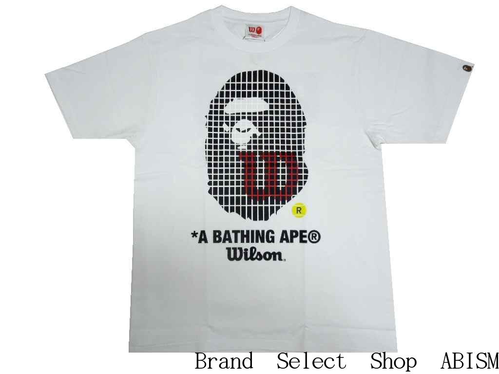 トップス, Tシャツ・カットソー A BATHING APE()xWILSONBAPE WILSON APE HEAD TEETMENSBAPE()