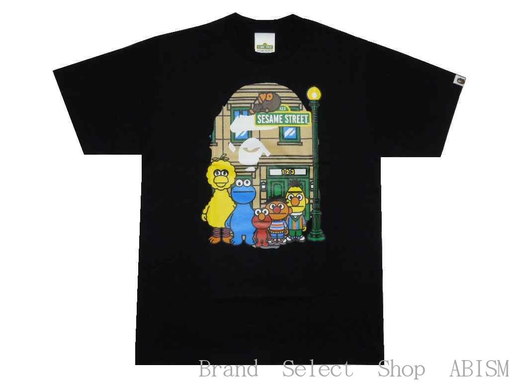 トップス, Tシャツ・カットソー A BATHING APE()xSESAME STREETBAPE X SESAME STREET APE HEAD TEETMENSBAPE()