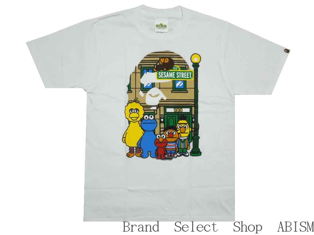 A Bathing Ape Men A BATHING APE()xSESAME STREETB...