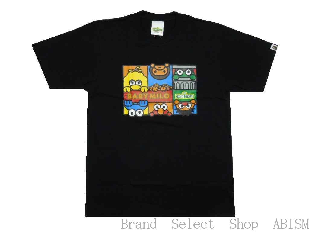 トップス, Tシャツ・カットソー A BATHING APE()xSESAME STREETBAPE X SESAME STREET CHARACTERS TEE 2TMENSBAPE()