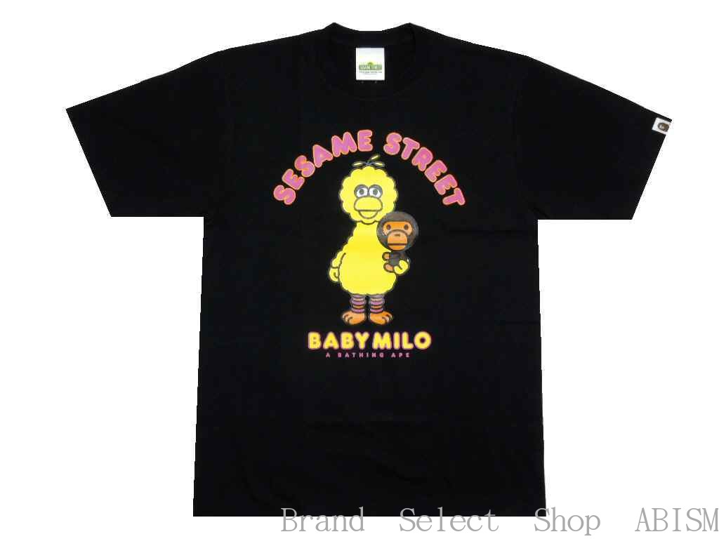 Bathing Ape milo A BATHING APE()xSESAME STREETBA...