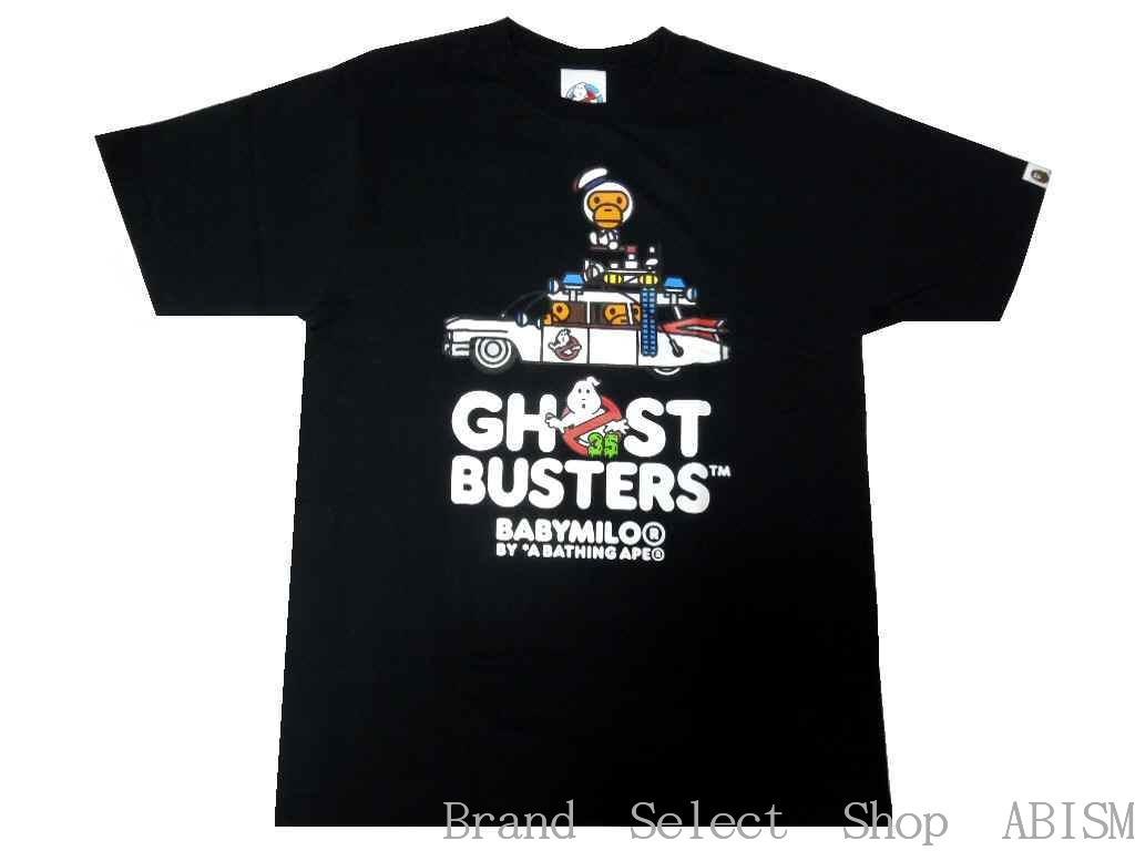 トップス, Tシャツ・カットソー A BATHING APE()xGHOSTBUSTERS()GHOSTBUS TERS X BABY MILO TEE 3TMENSBAPE()
