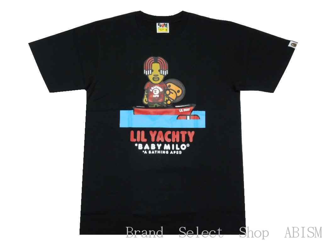 トップス, Tシャツ・カットソー A BATHING APE()xLIL YACHTYBABY MILO X LIL YACHTY TEE 2TMENSBAPE()