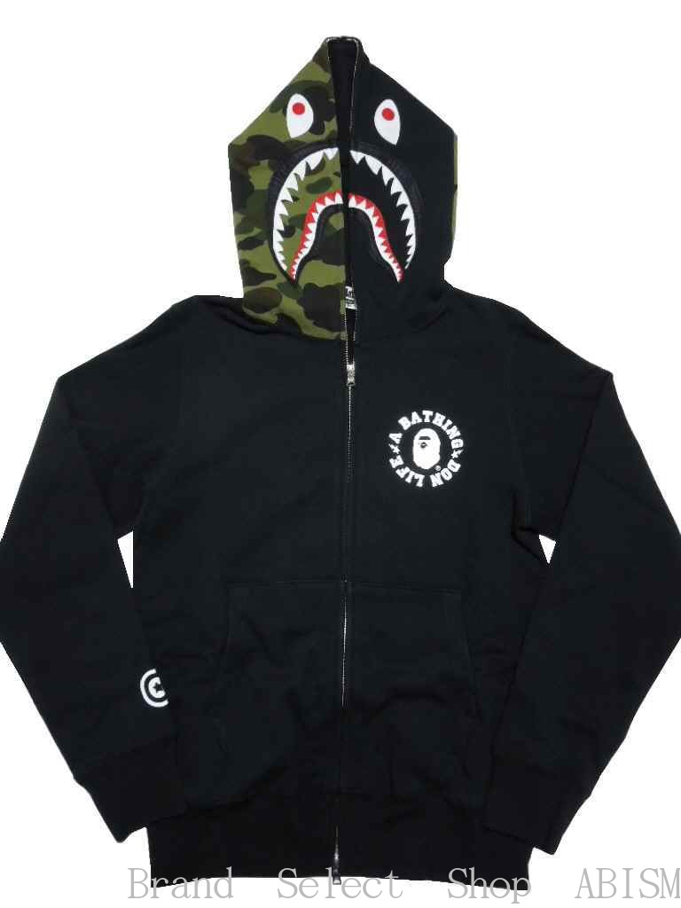 トップス, パーカー A BATHING APEx BIG SEAN BIG SEAN X BAPE SHARK FULL ZIP HOODIE MENSBAPE