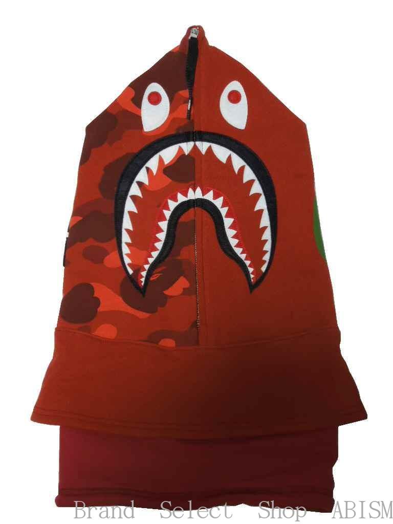 バッグ・小物・ブランド雑貨, その他 A BATHING APE()COLOR CAMO SHARK FACE MASKBAPE()