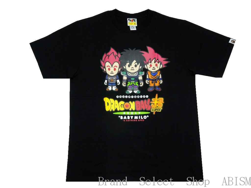 トップス, Tシャツ・カットソー A BATHING APE()xDRAGON BALL SUPER: BROLY( )BAPE X DRAGONBALL SUPER BROLY TEETMENSBAPE()