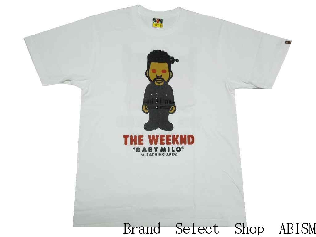 トップス, Tシャツ・カットソー A BATHING APE()xThe WeekndBAPE XO THE WEEKND TEETMENSBAPE()