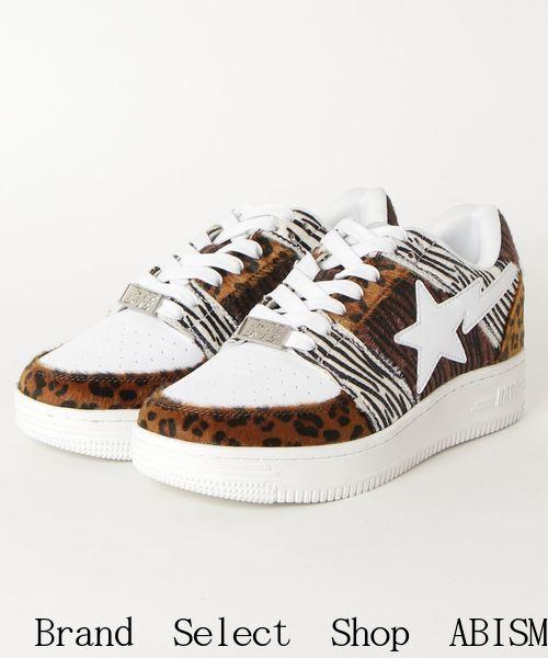メンズ靴, スニーカー A BATHING APE()ANIMAL MIX BAPE STA LOW M22020SSBAPE