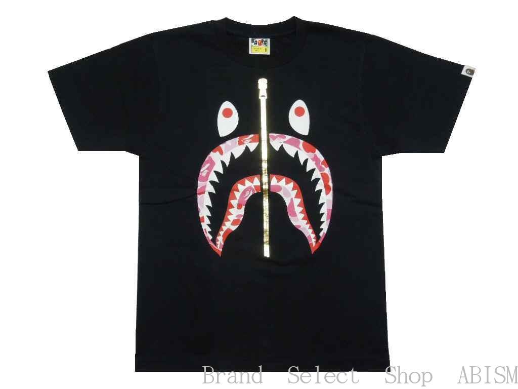 トップス, Tシャツ・カットソー A BATHING APE()ABC CAMO SHARK TEETxCAMOMENSBAPE