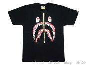ABATHINGAPE(エイプ)ABCSHARKTEE【Tシャツ】【ブラックxピンクCAMO】【新品】【MEN'S】【BAPE/ベイプ】