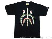ABATHINGAPE(エイプ)ABCSHARKTEE【Tシャツ】【ブラックxグリーンCAMO】【新品】【MEN'S】【BAPE/ベイプ】