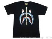 ABATHINGAPE(エイプ)ABCSHARKTEE【Tシャツ】【ブラックxブルーCAMO】【新品】【MEN'S】【BAPE/ベイプ】