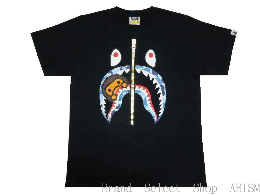 トップス, Tシャツ・カットソー A BATHING APE()ABC CAMO MILO SHARK TEETxCAMOMENSBAPE