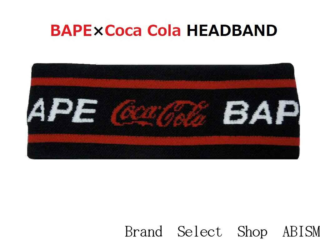 メンズファッション, その他 A BATHING APE() COCA-COLA()COCA COLA HEADBANDBAPE()