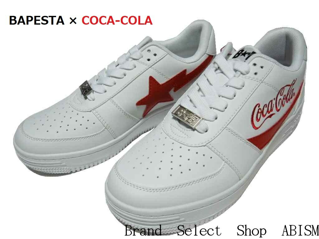 メンズ靴, スニーカー A BATHING APE() COCA-COLA()COCA COLA BAPE STA LOW M12020SSBAPE