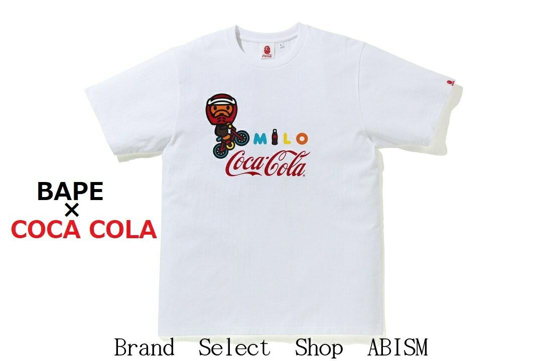 トップス, Tシャツ・カットソー WINTERA BATHING APE() COCA-COLA()COCA COLA MILO BMX TEETMENSBAPE()