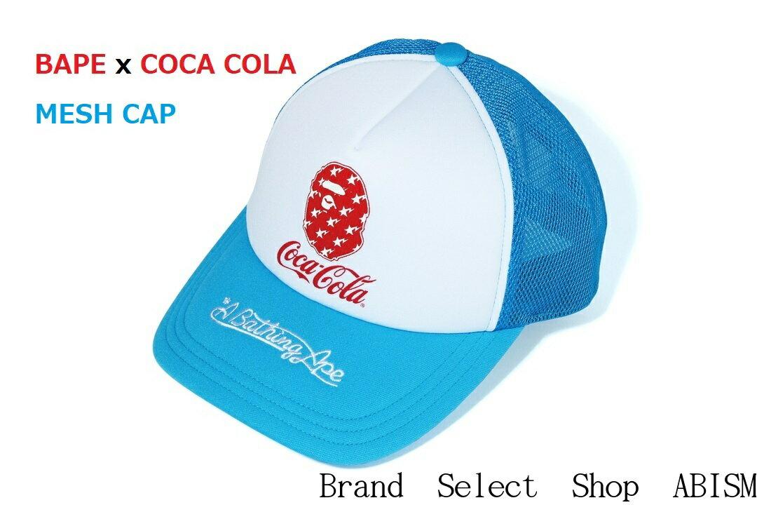 メンズ帽子, キャップ A BATHING APE()COCA-COLA()COCA COLA MESH CAPBAPE()