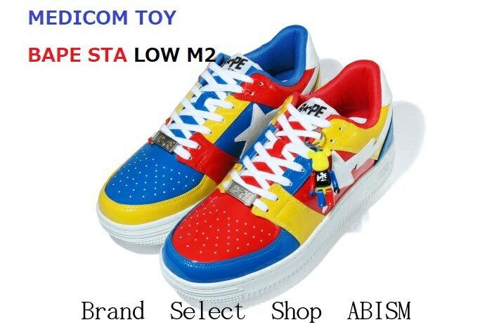 メンズ靴, スニーカー A BATHING APE()MEDICOM TOY()MEDICOM TOY BAPE STA LOW M22020AWBAPE