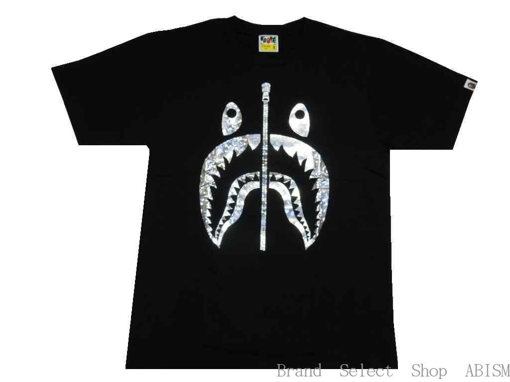 トップス, Tシャツ・カットソー A BATHING APE()AURORA SHARK TEETMENSBAPE
