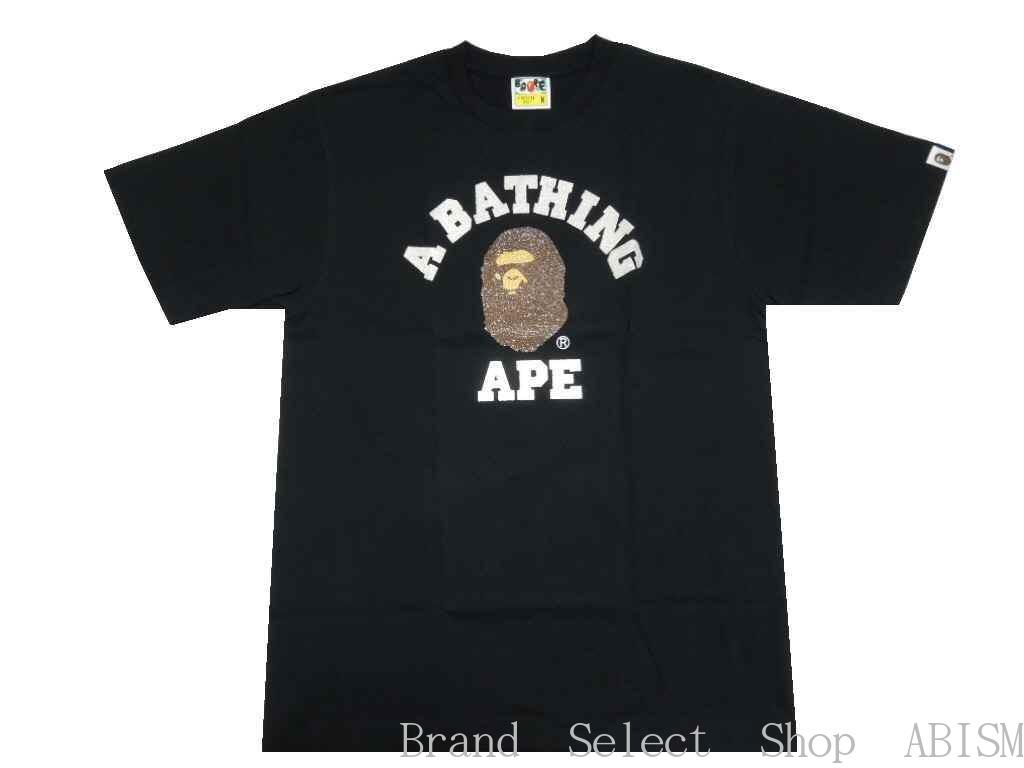 トップス, Tシャツ・カットソー A BATHING APE()GLASS BEADS COLLEGE TEETMENSBAPE