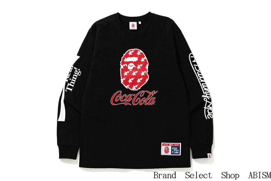 トップス, Tシャツ・カットソー A BATHING APE() COCA-COLA()COCA COLA LS TEETTMENSBAPE()