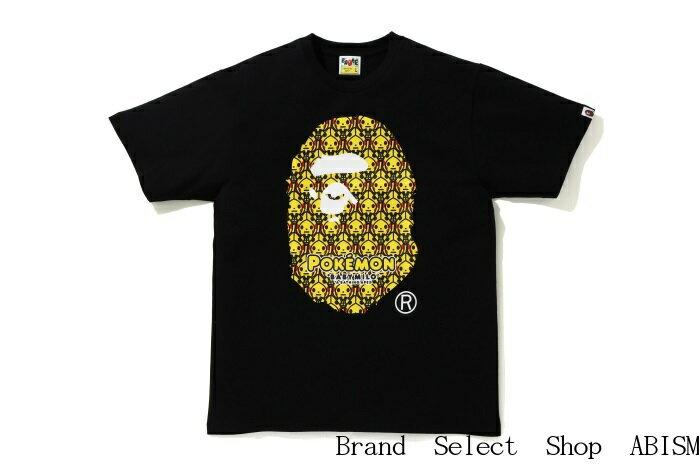 トップス, Tシャツ・カットソー A BATHING APEX POKEMONBIG APE HEAD PIKACHU TEETMENSBAPE