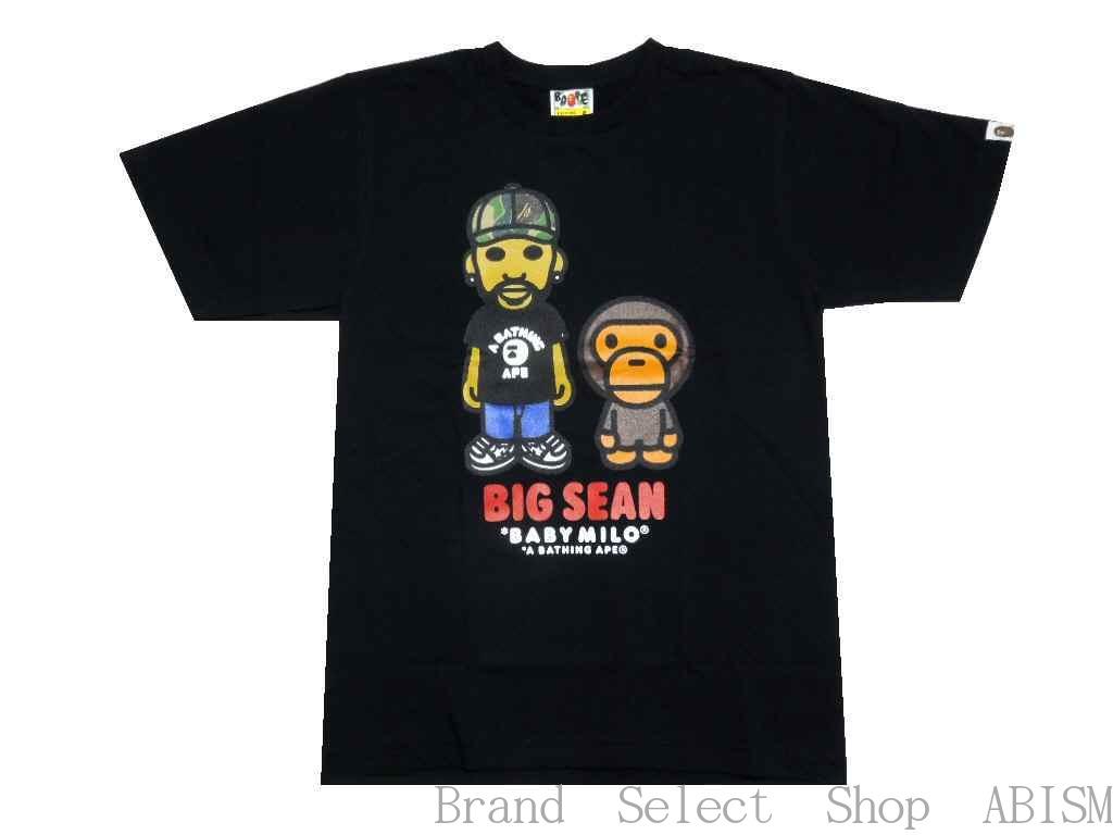 トップス, Tシャツ・カットソー A BATHING APE()x BIG SEAN BIG SEAN X BAPE BABY MILO TEETMENSBAPE()