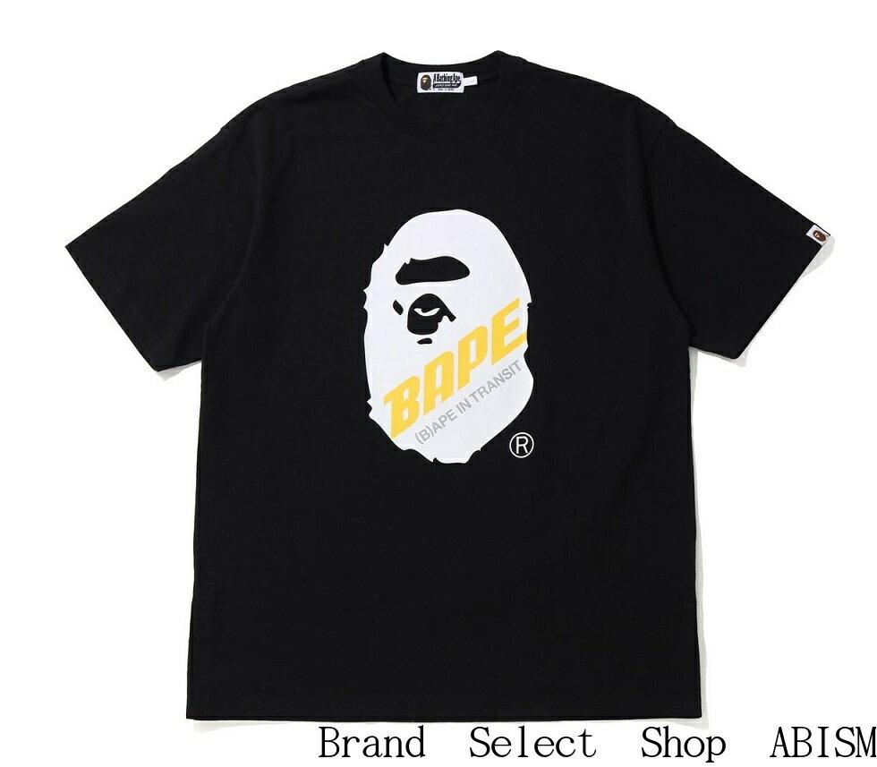 トップス, Tシャツ・カットソー A BATHING APE()(B)APE IN TRANSIT APE HEAD OVERSIZED TEETMENSBAPE