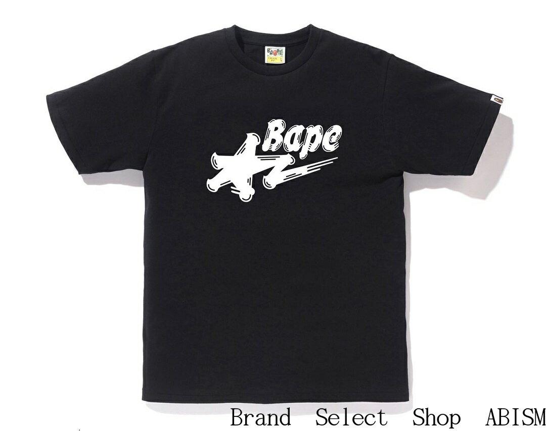 トップス, Tシャツ・カットソー A BATHING APE()BRUSH BAPE STA LOGO TEETMENSBAPE