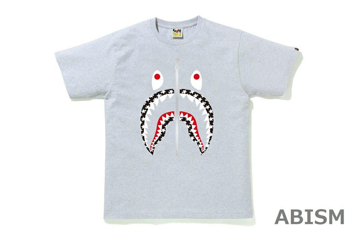 トップス, Tシャツ・カットソー A BATHING APE()STA PATTERN SHARK TEETMENSBAPE