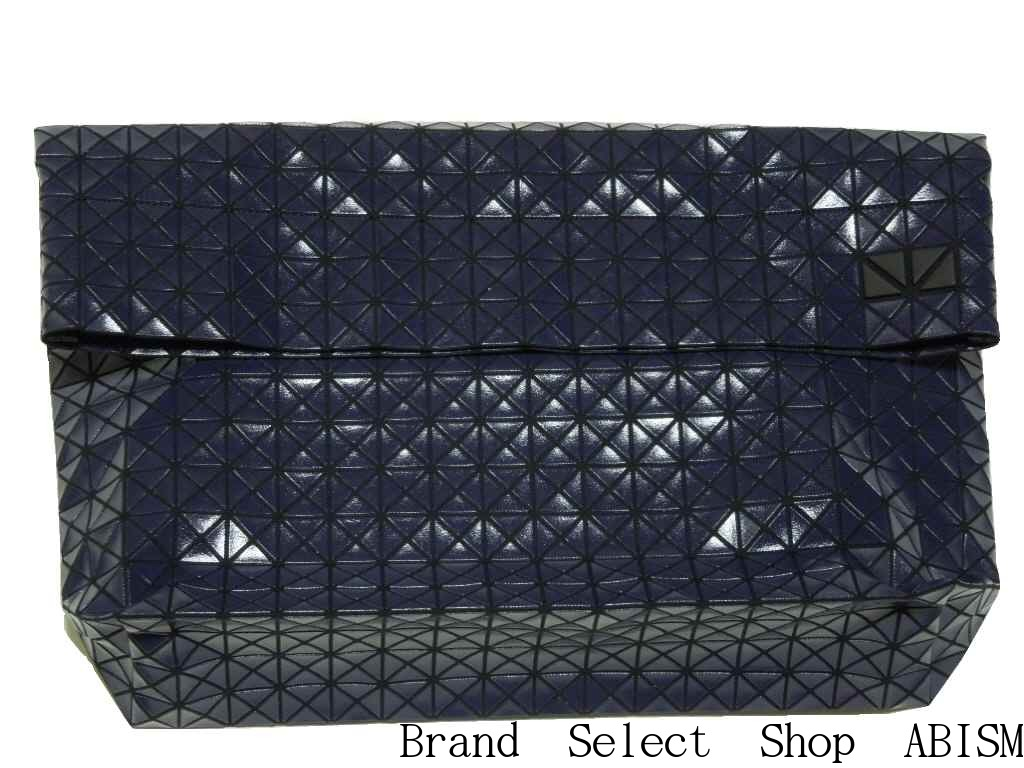 BAOBAO ISSEY MIYAKE(バオバオイッセイミヤケ)SPORTS LINE CLUTCH BAGクラッチバッグ【ダークネイビー】【日本製】【新品】BB53-AG851-75:Brand Select Shop ABISM