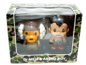 【代引き不可】ABATHINGAPE(エイプ)xASTROBOY(鉄腕アトム)DR.MILO&ASTROBOYFIGURE【MEDICOMTOY】【新品】BAPE(ベイプ)